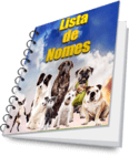 lista de nomes de cachorro